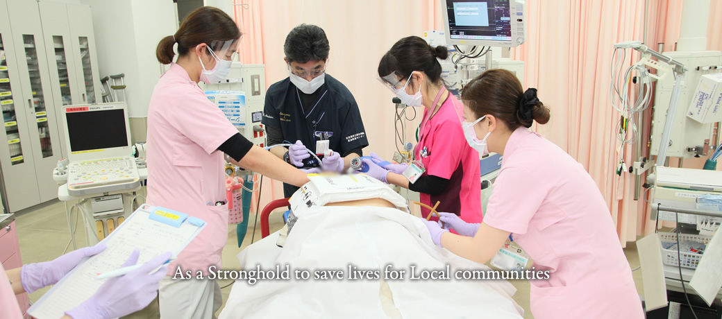 As a Stronghold to save lives for Local communities
