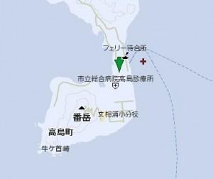 高島診療所の地図